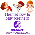 Children's t-shirts, yogarate